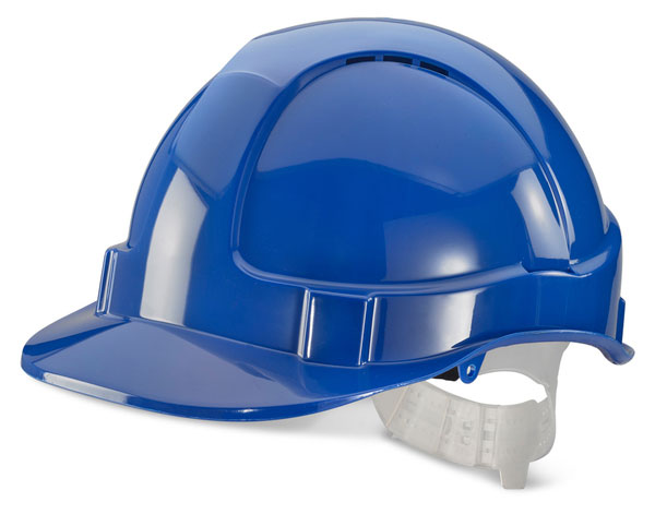 Click Economy Vented Safety Helmet