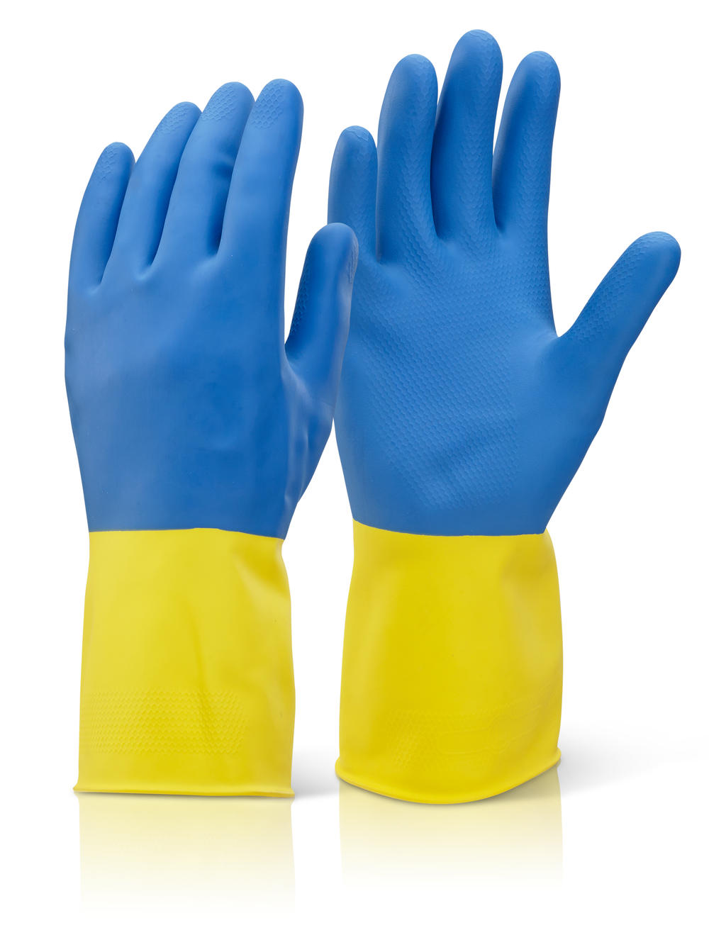 Bi-colour Neoprene Household Gloves