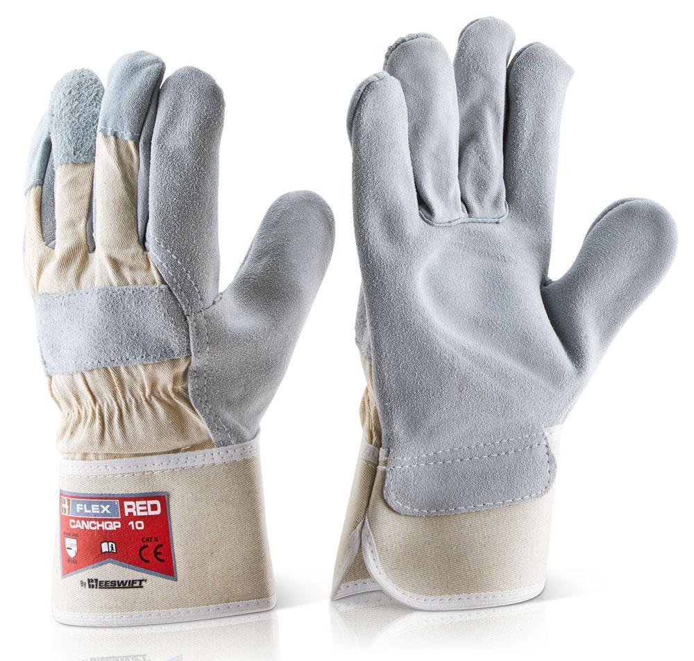 Γάντια Δερματοπάνινα High Qual B-Flex Click