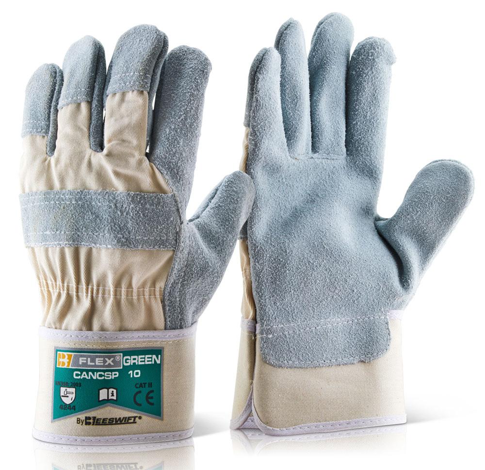 Γάντια Δερματοπάνινα H-Quality B-Flex Click