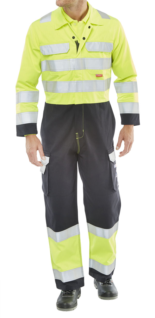 FR Anti-Static ARC Hi-Vis Two Tone Coverall