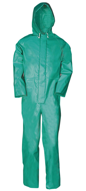 Sioen Chemtex Coverall Green