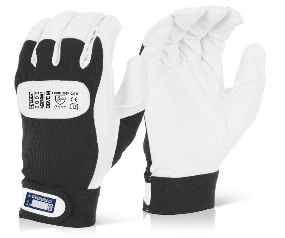 Velcro Cuff Driver's Gloves Click