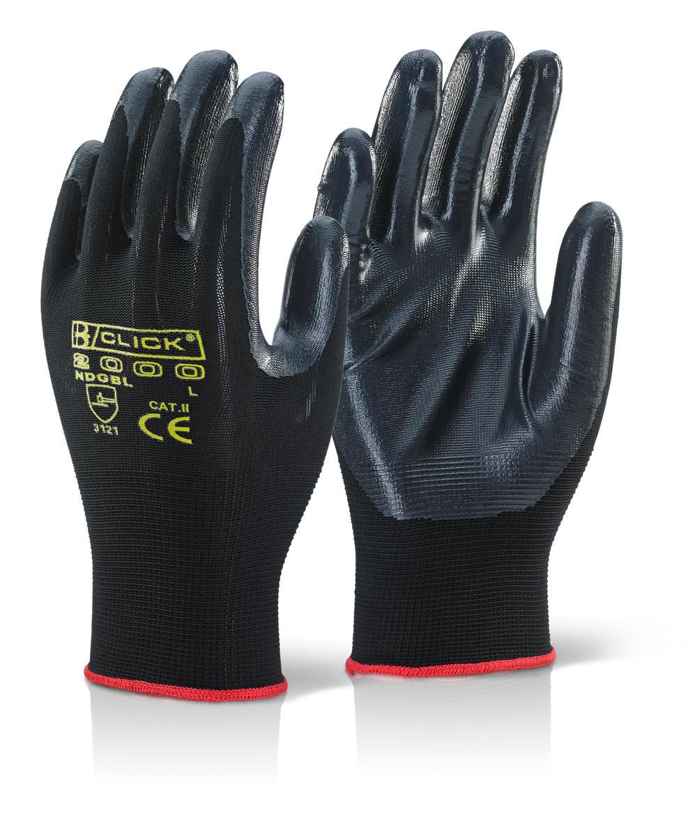 Γάντια νιτριλίου Nite Star Click