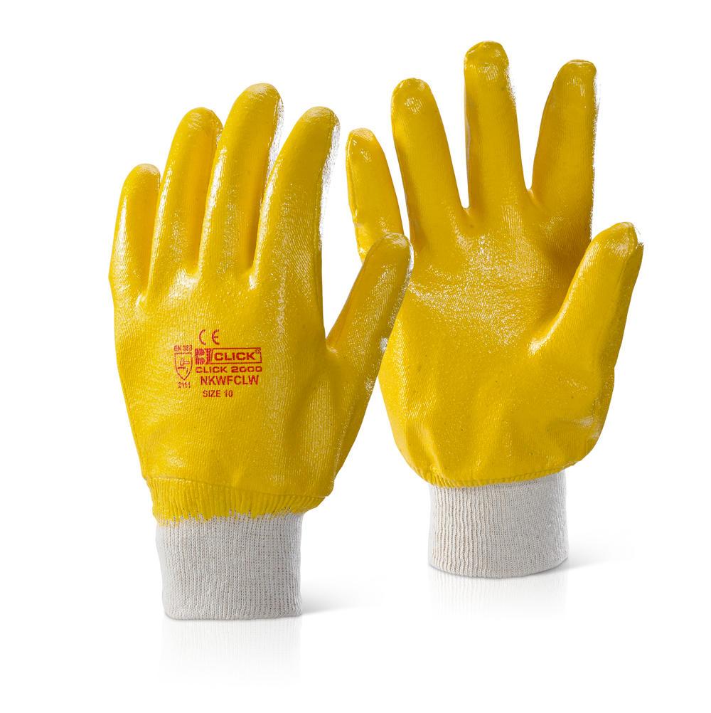 Γάντια νιτριλίου Full Coated Click
