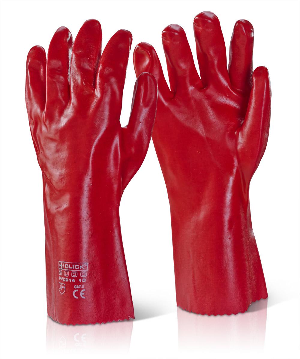 """Γάντια PVC 14"""" (35εκ) Click"""