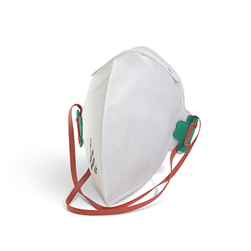 P2 Fold Flat Valved Mask