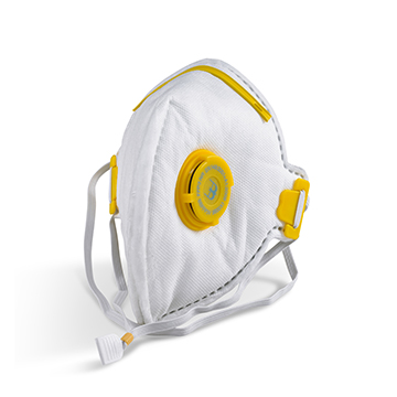 Fold Flat P3 Mask Valved