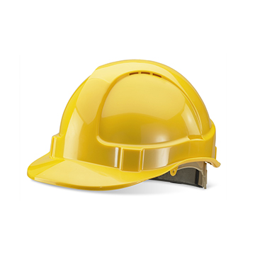 Wheel Ratchet Vented Safety Helmet
