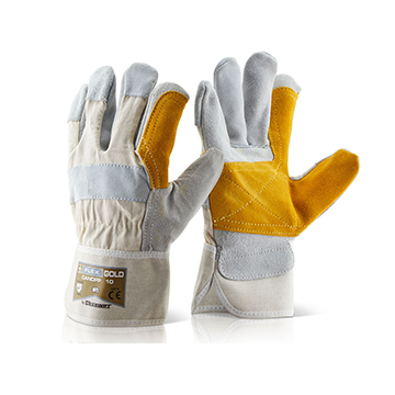 Canadian Double Palm High Quality Rigger Glove Click