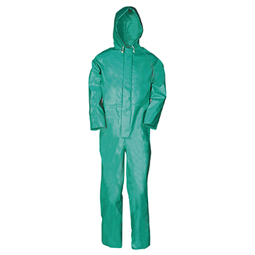 Sioen Chemtex Coverall Green