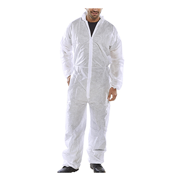 Poly Drop Disposable Boilersuit