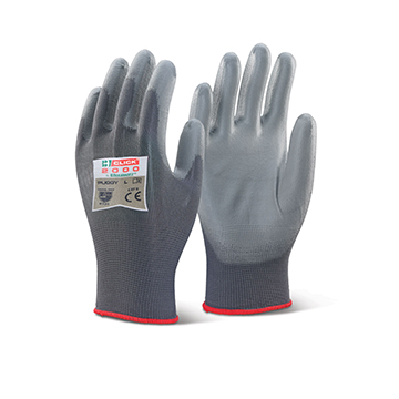 PU Coated Gloves Click