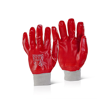PVC Fully Coated Knitwrist Gloves