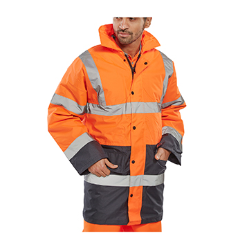 Two Tone Traffic Jacket BSeen