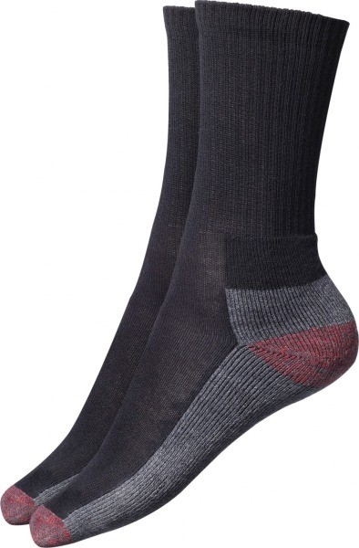 Dickies Black Cushion Crew Socks (5 Pairs)