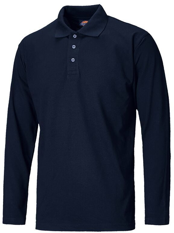 Dickies Long Sleeve Polo Shirt